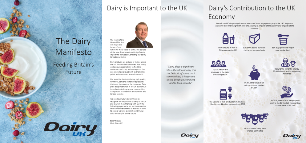 Dairy UK Manifesto